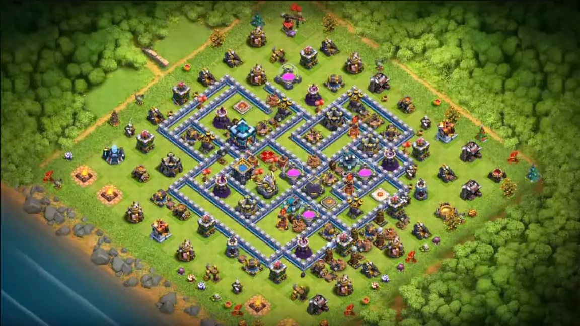 best townhall 13 farming base