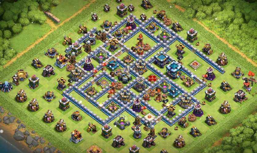 best townhall 13 farming link anti everything