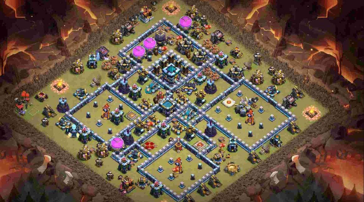 th13 war base anti 3 stars
