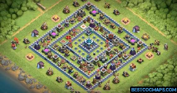 th13 trophy war base