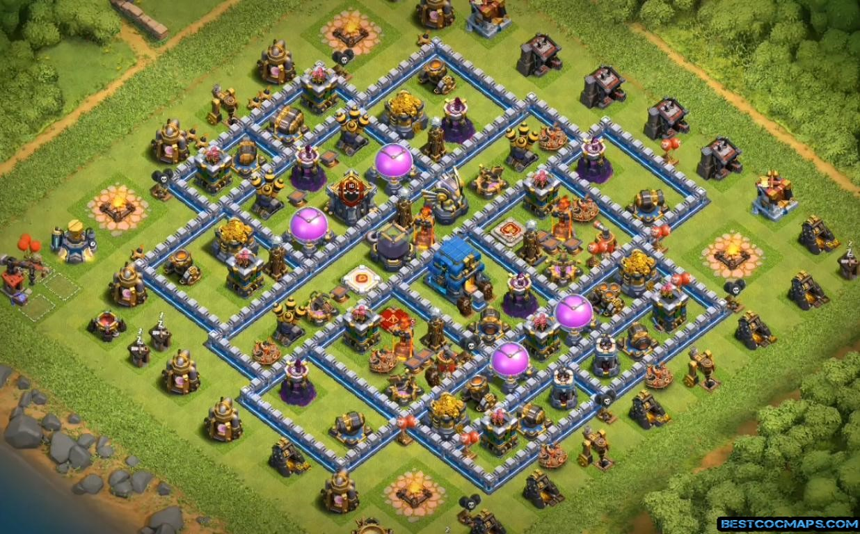 level 12 base for saving loot