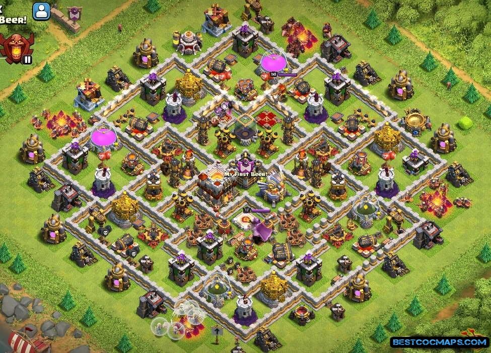 best th11 farming base link