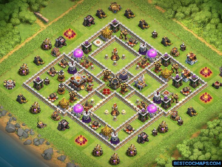 best th11 war base link