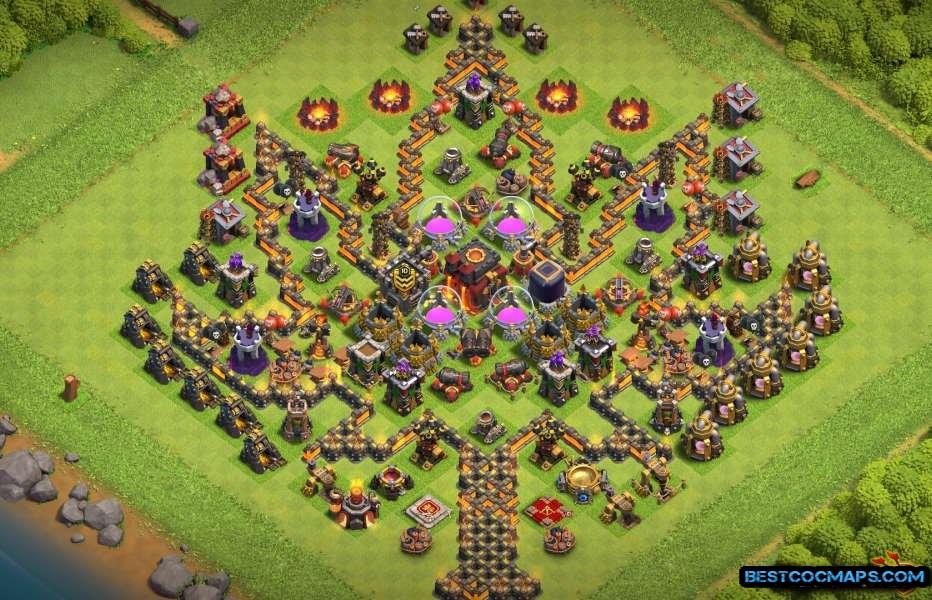 level 10 trophy layout link