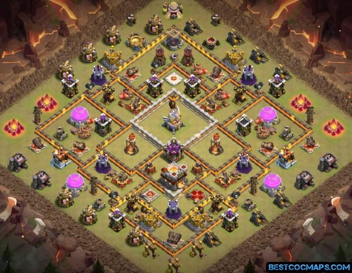 clash of clans th11 war base
