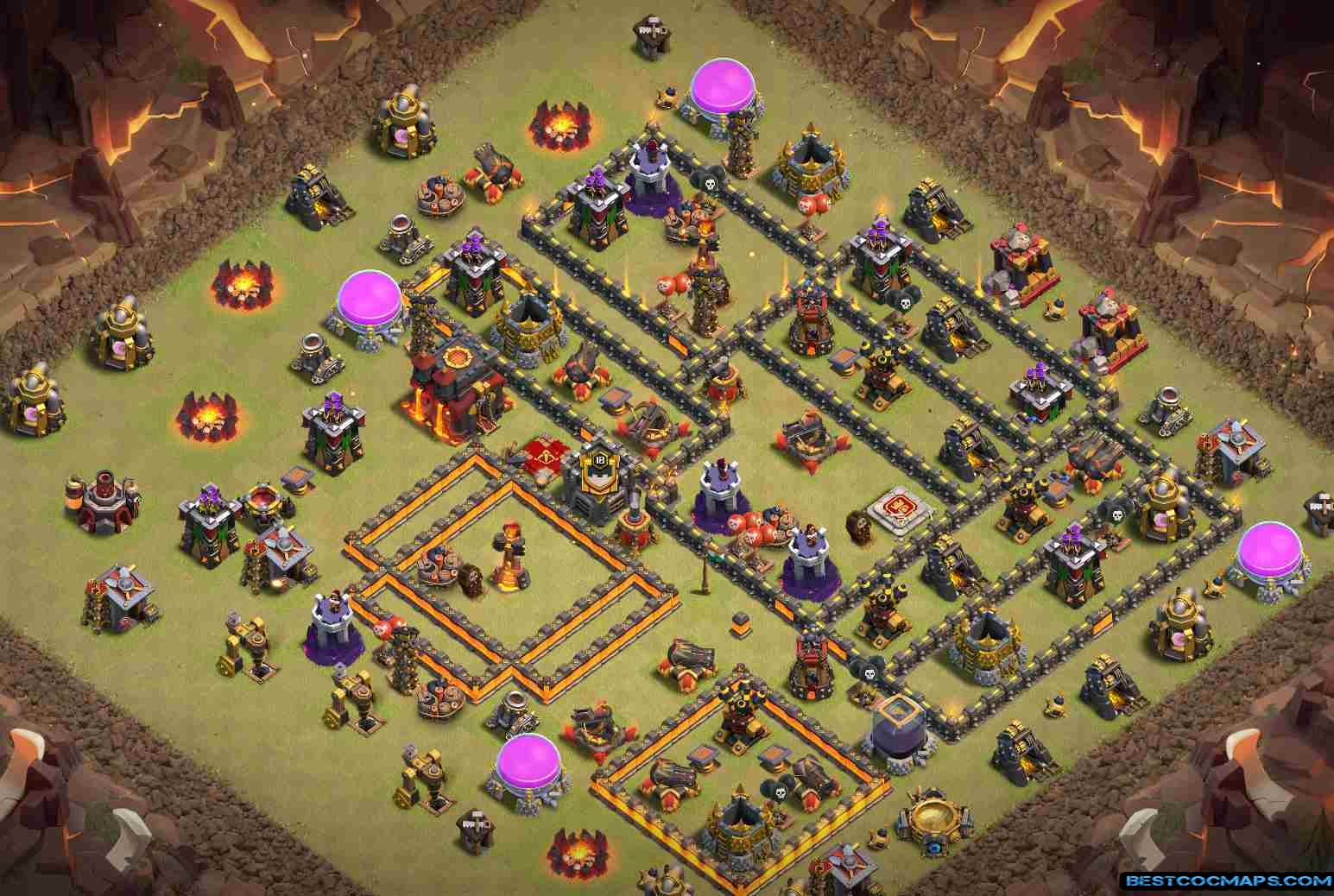 th10 war base anti everything 275 walls link