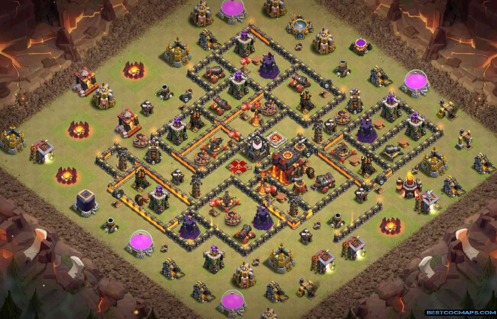 level 10 war base link