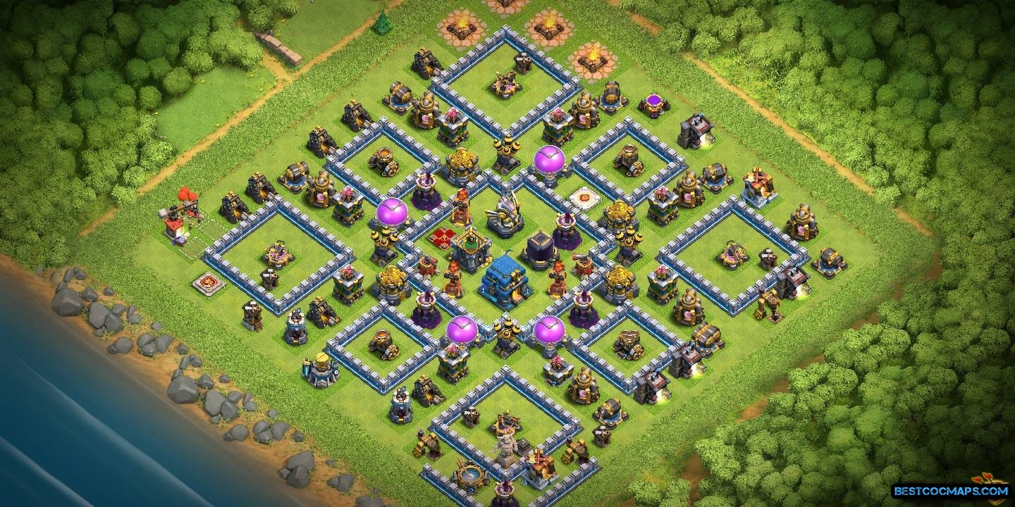COC level 12 layout link