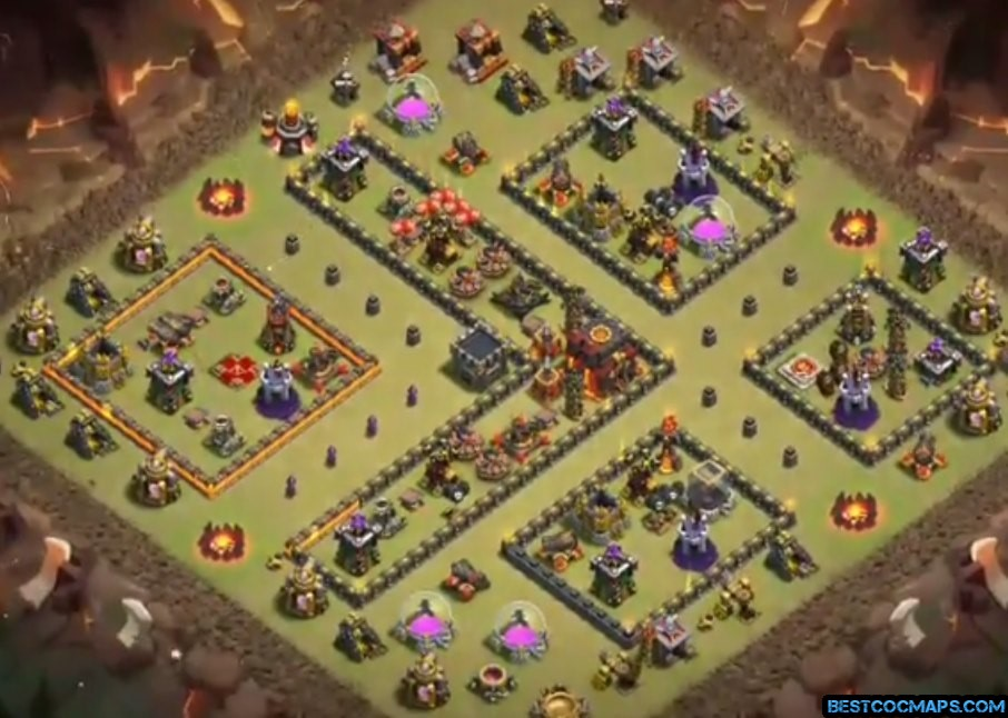 best th10 bases