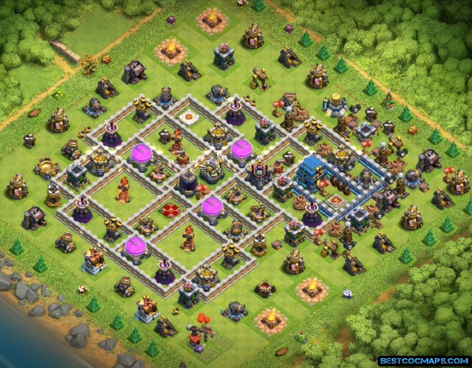 best townhall 12 farming base link