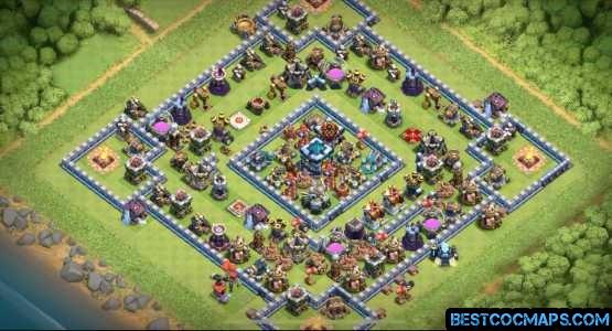 th13 super trophy farm base