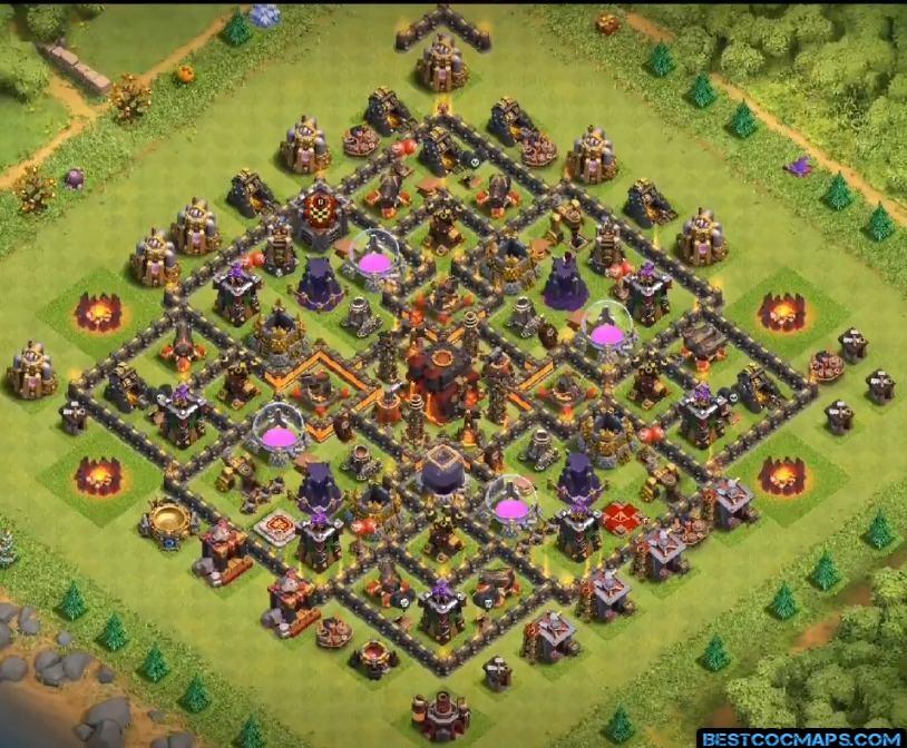 th10 farming base layout link