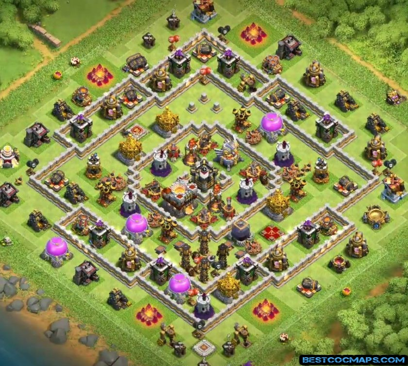 coc th11 base link