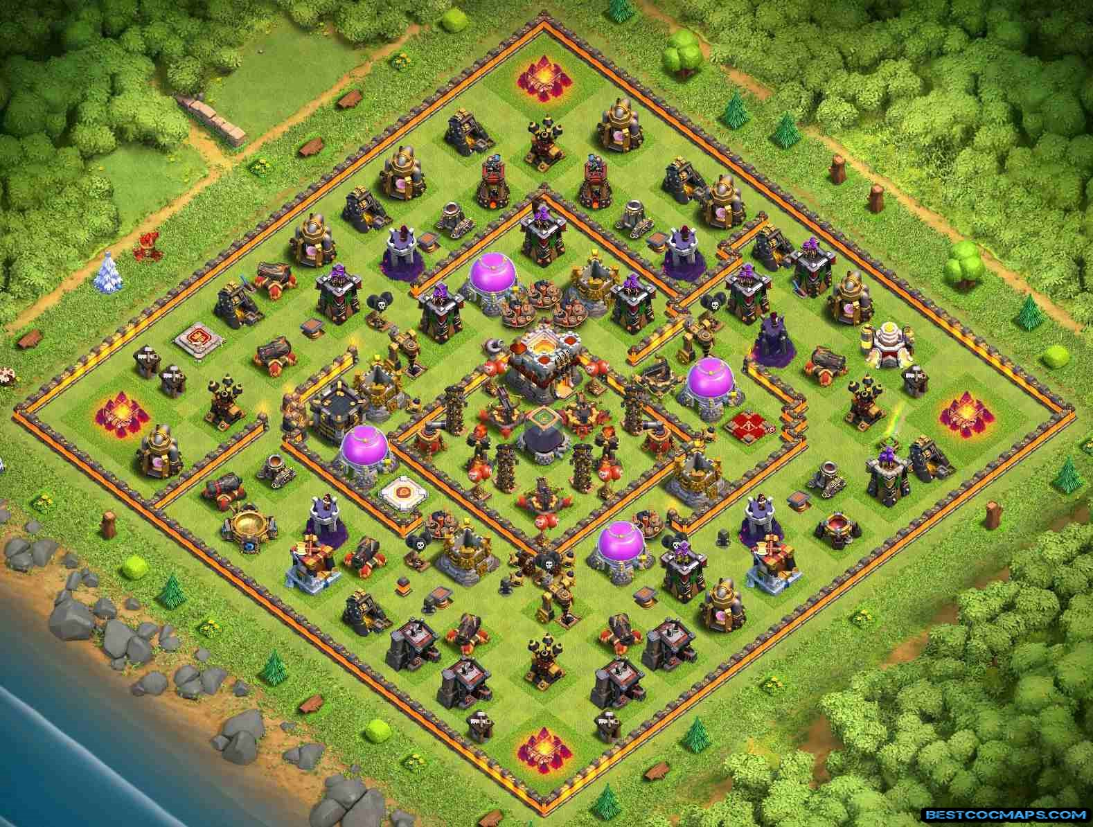 th11 trophy protector map link