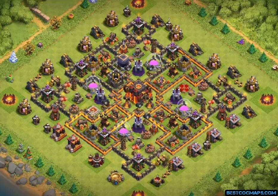 th10 hybrid base with link