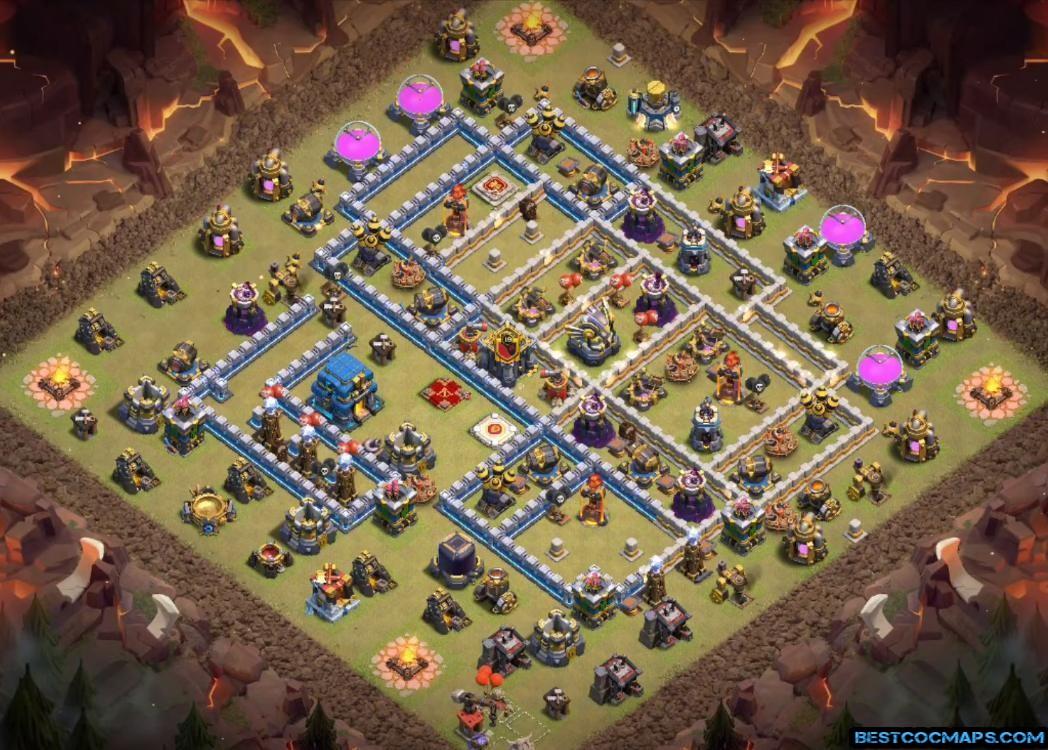 th12 war base layout link 2020