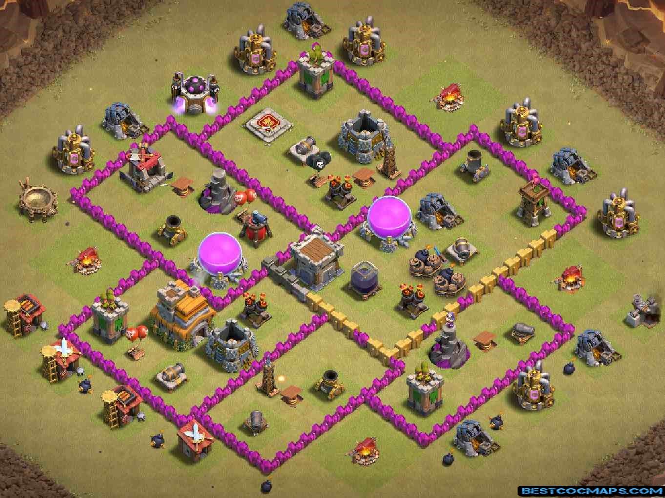 th7 war layout link