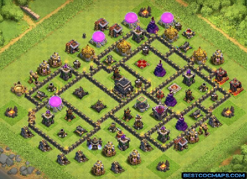 th9 trophy base link anti 2 stars