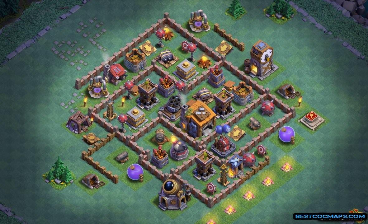 builder hall 7 defense base link