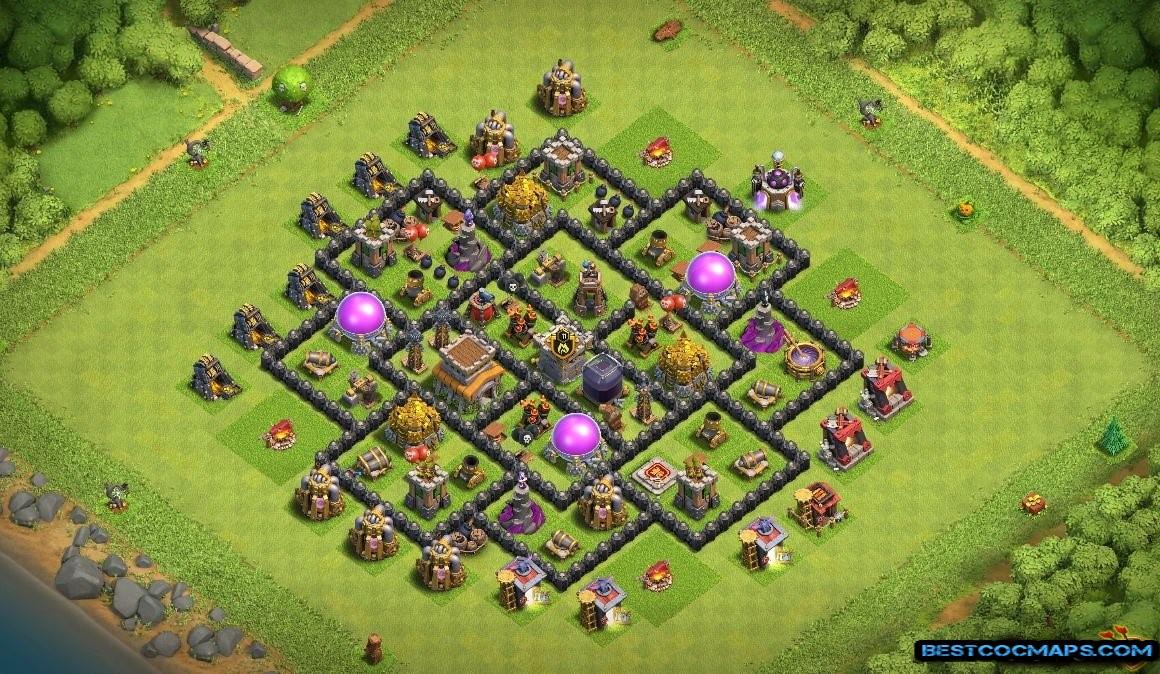 th8 farming bases anti 2 stars