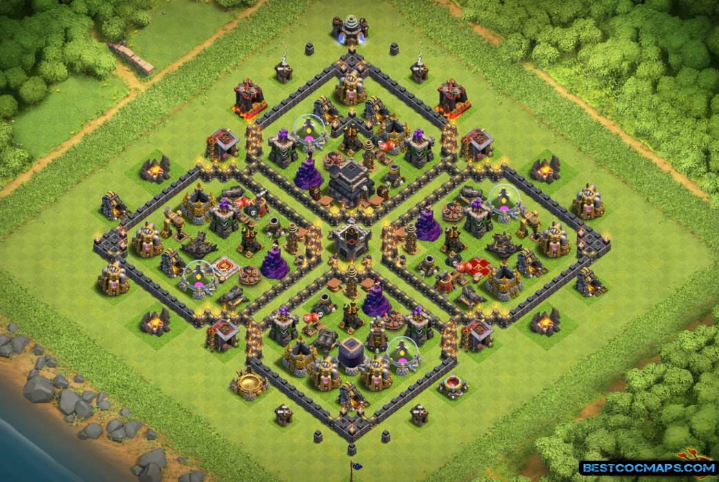 level 9 farming base