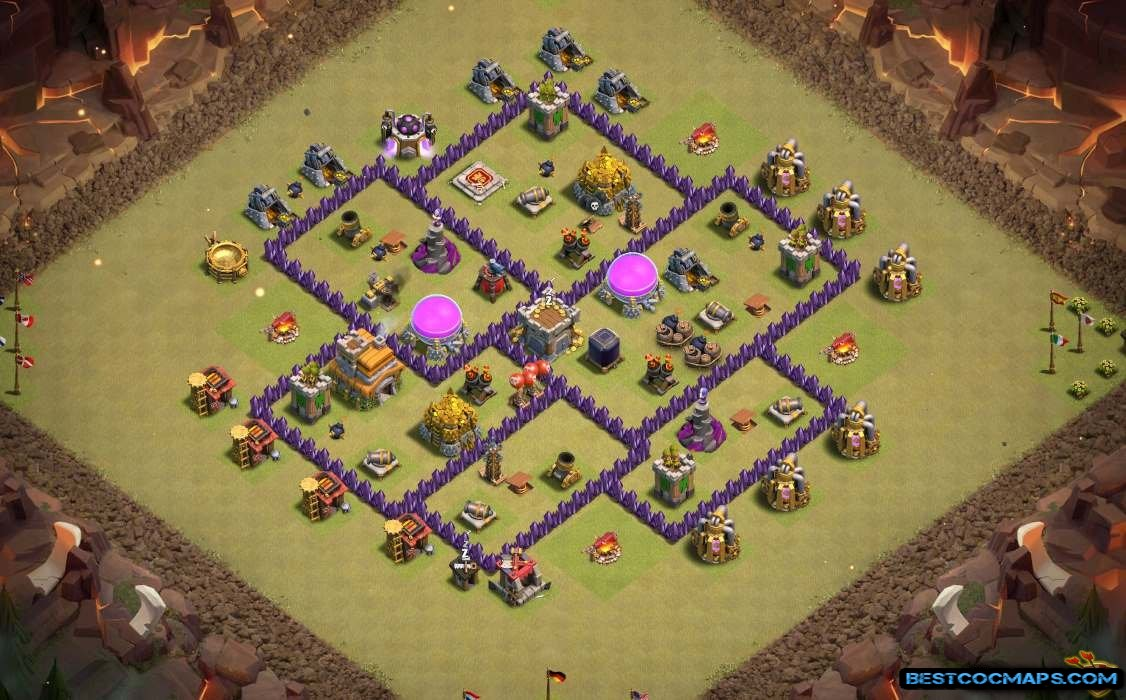 coc th7 hybrid layout link