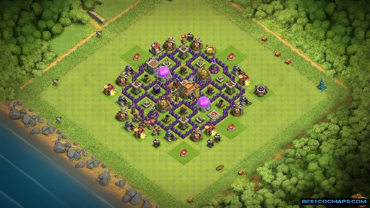 th7 war base anti dragon