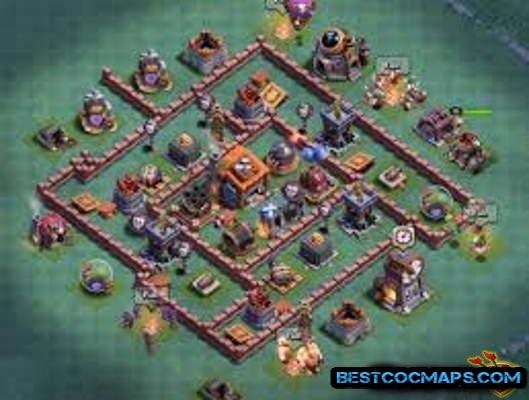 builder hall 7 base Dark Barbarian