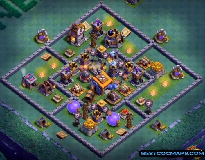 builder hall 8 base links