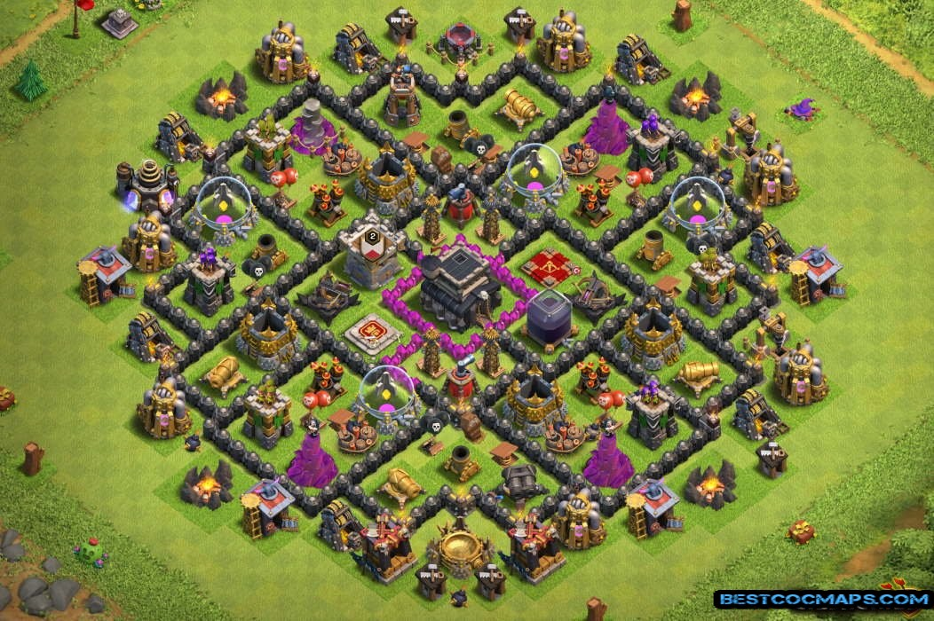 th9 war base without xbows link