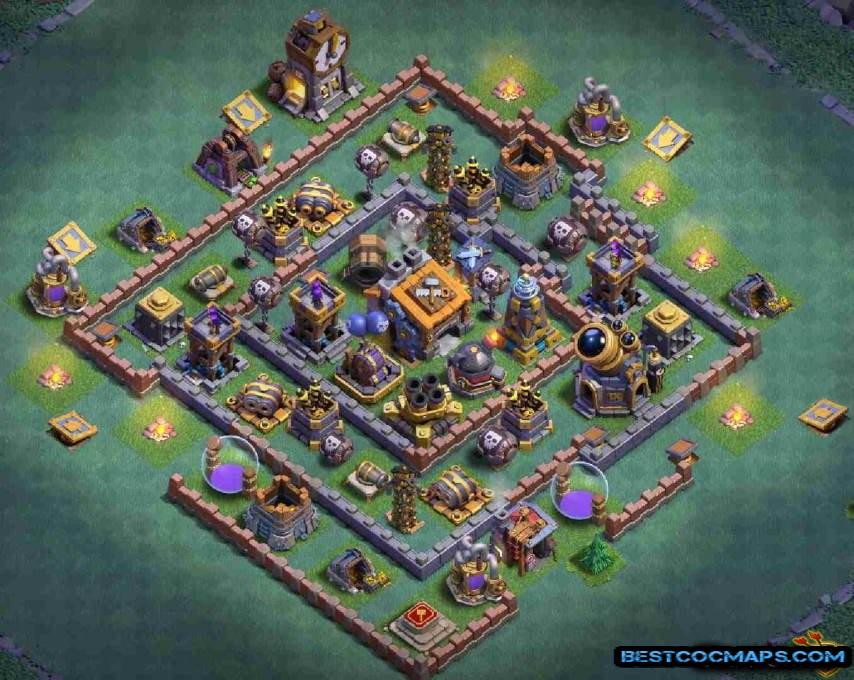 clash of clans builder hall 8 design link