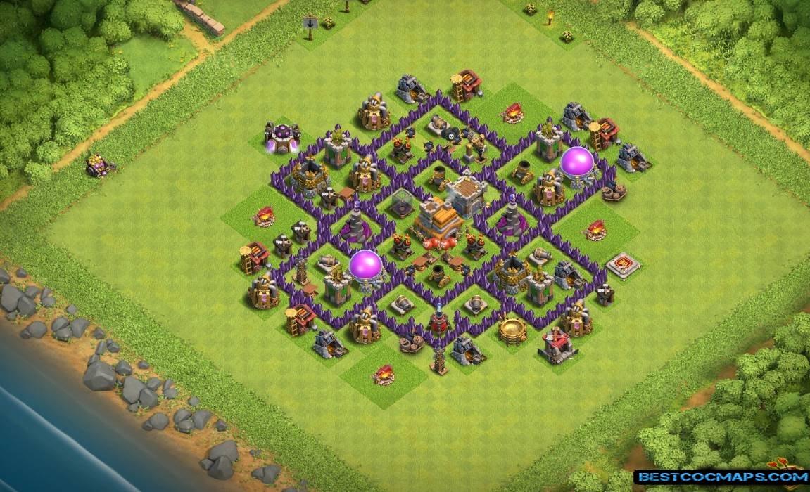 th7 hybrid base layout