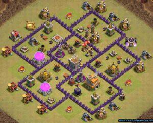 best th7 war bases