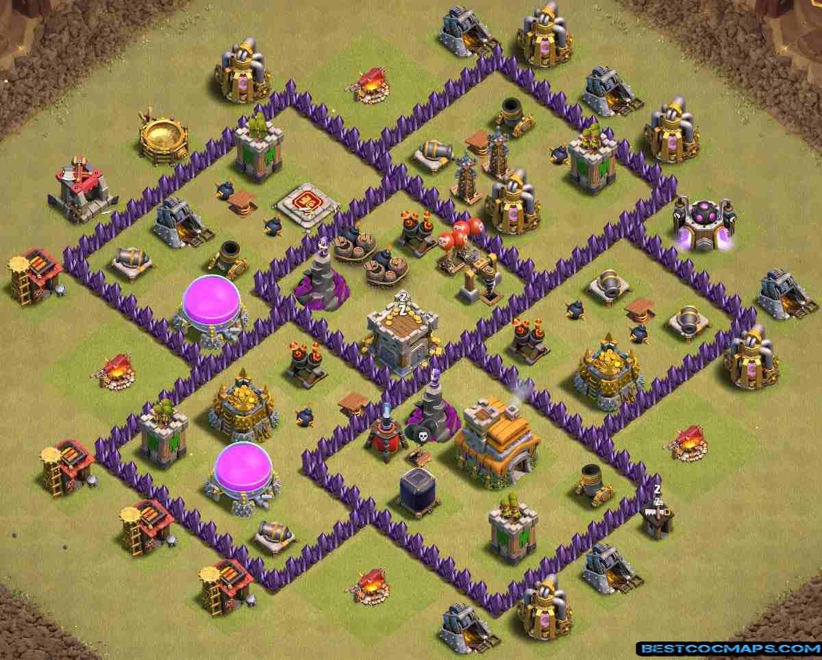 10 Best Th7 War Bases Links Anti Everything Bestcocmaps Com