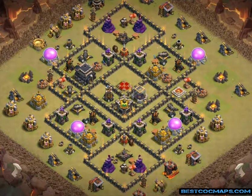 best TH9 War Base