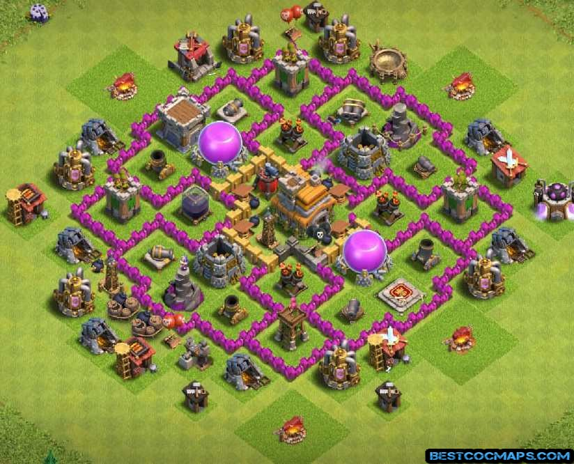 best th7 farming bases