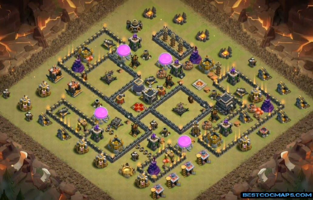 th9 war base anti everything