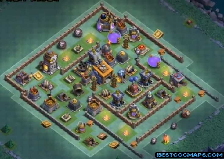 best builder hall 8 base design
