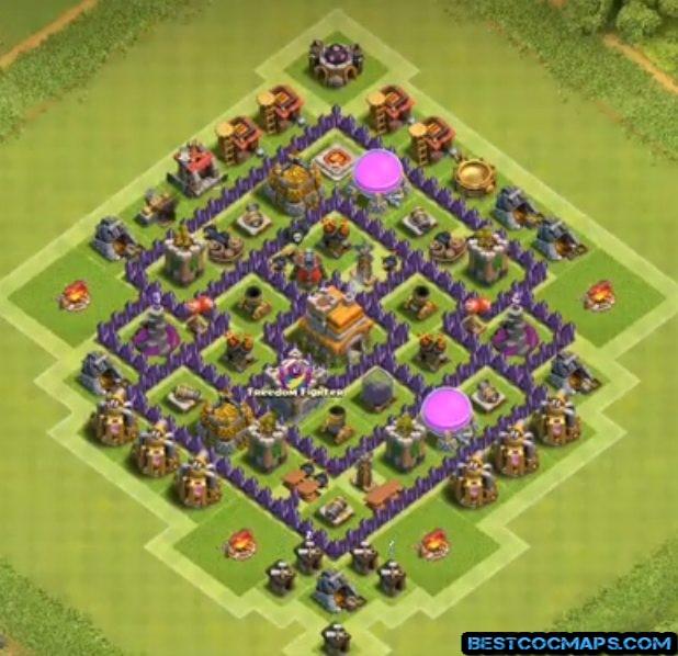 best th7 farming base anti everything