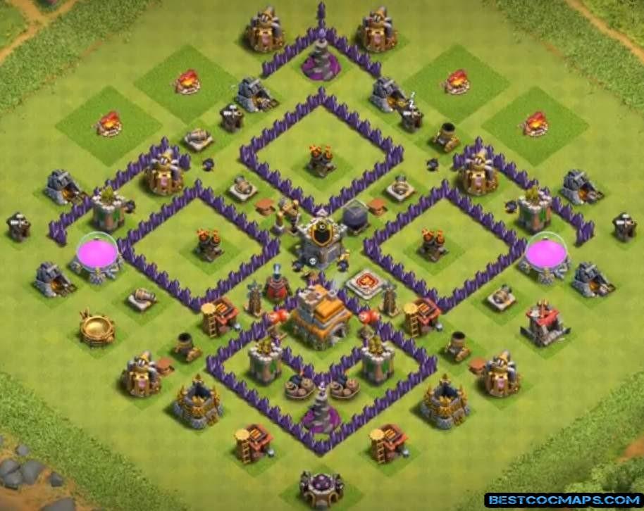 coc th7 farming base link