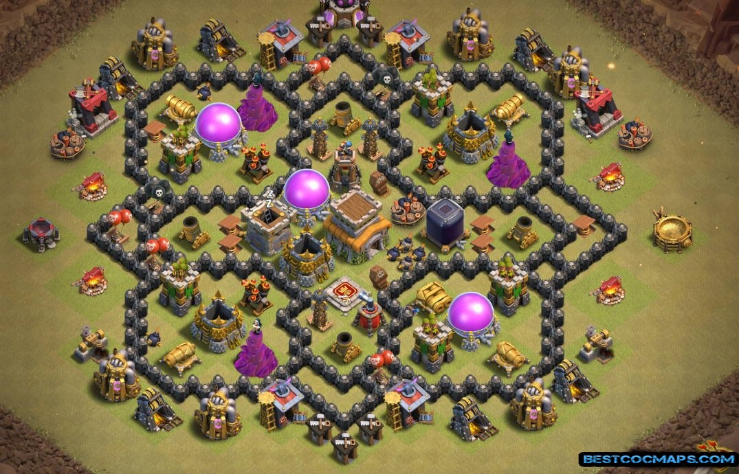 10 Best Th8 Bases Links Anti Everything Farming Hybrid Trophy War