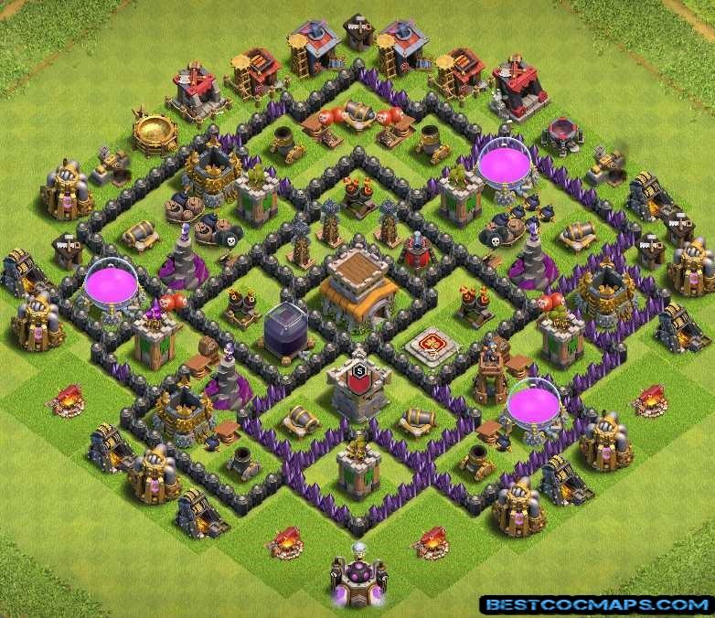 th8 trophy base links anti 2 stars