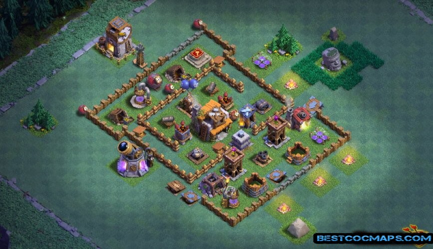 builder hall 5 base dark barbarian
