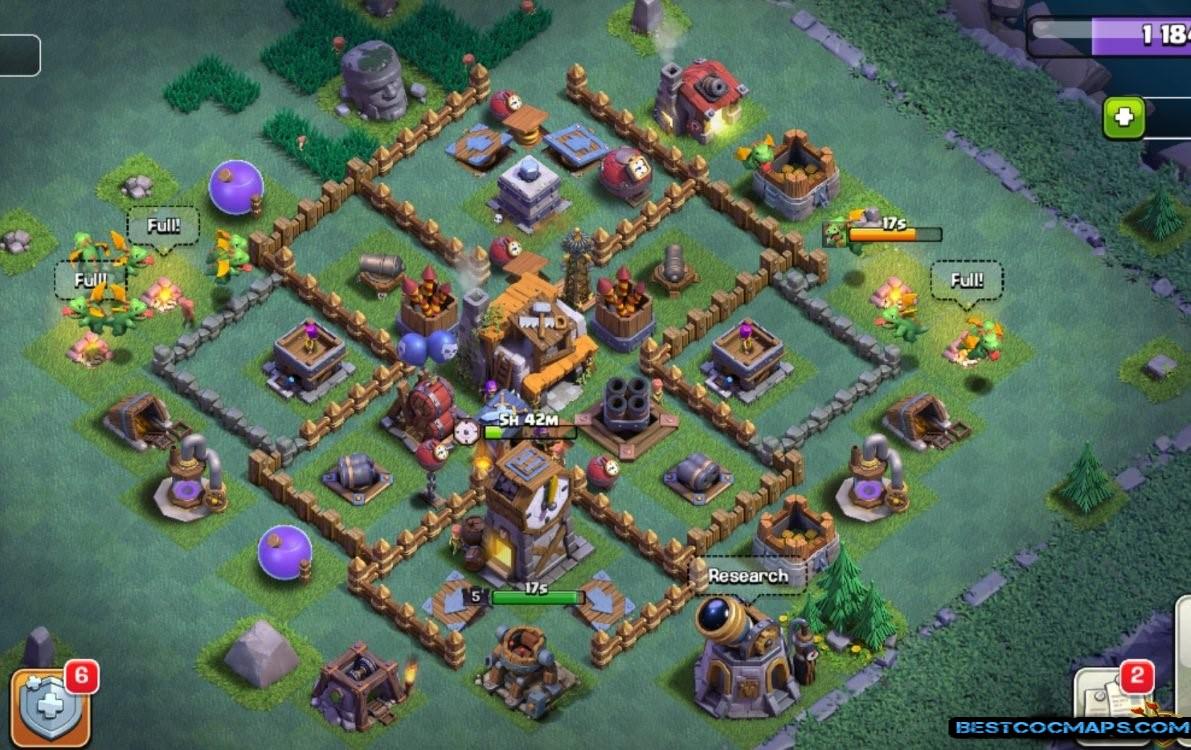 builder hall 5 base layout link