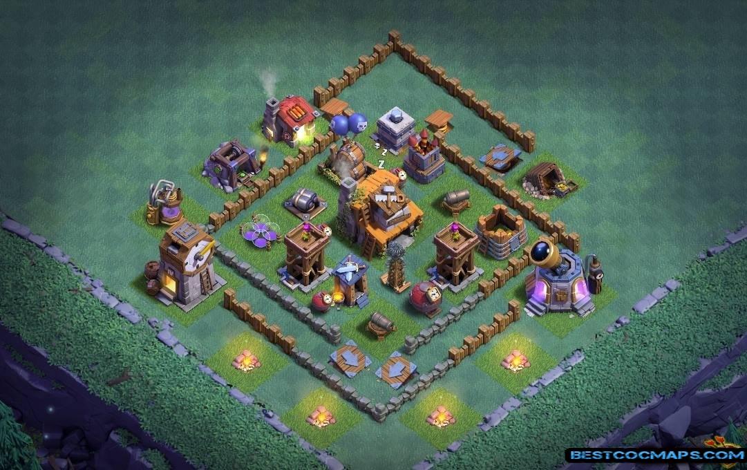 best builder hall 4 base anti everything