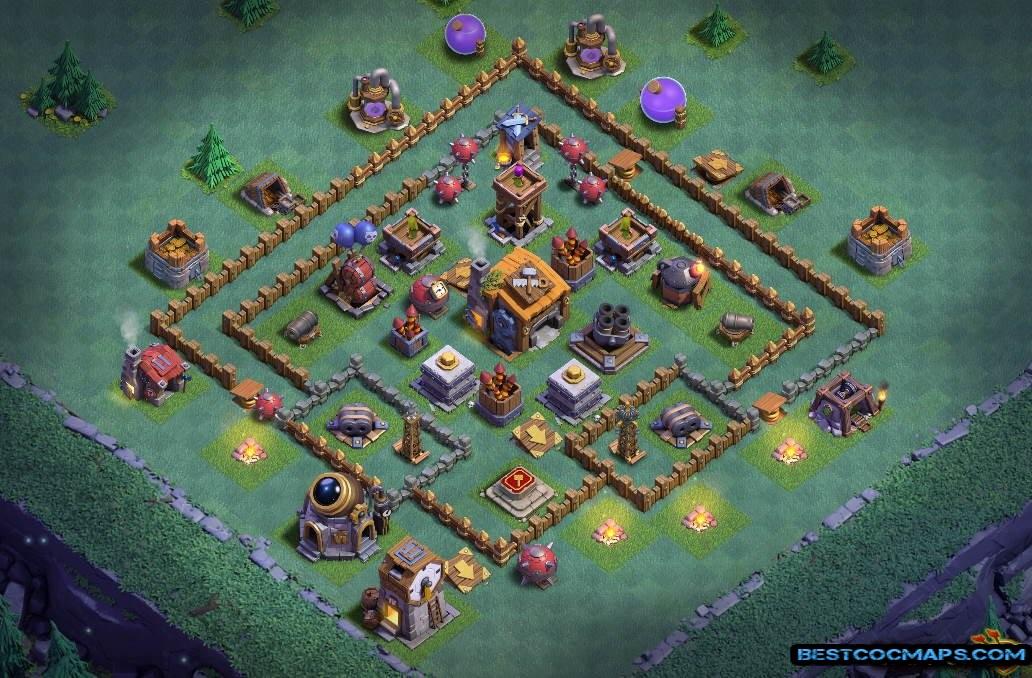 best builder hall 6 map link
