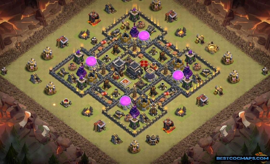th8 war base layout link