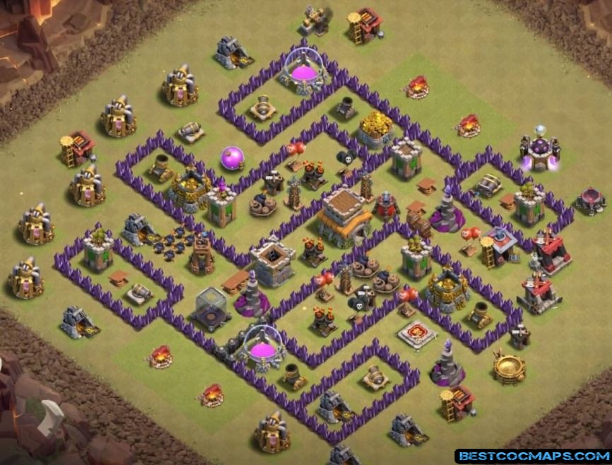 10 Best Th8 War Bases Links Anti Everything Latest Bases