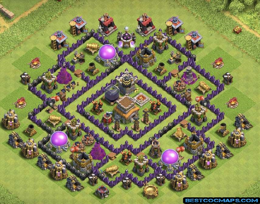 coc th8 trophy base links