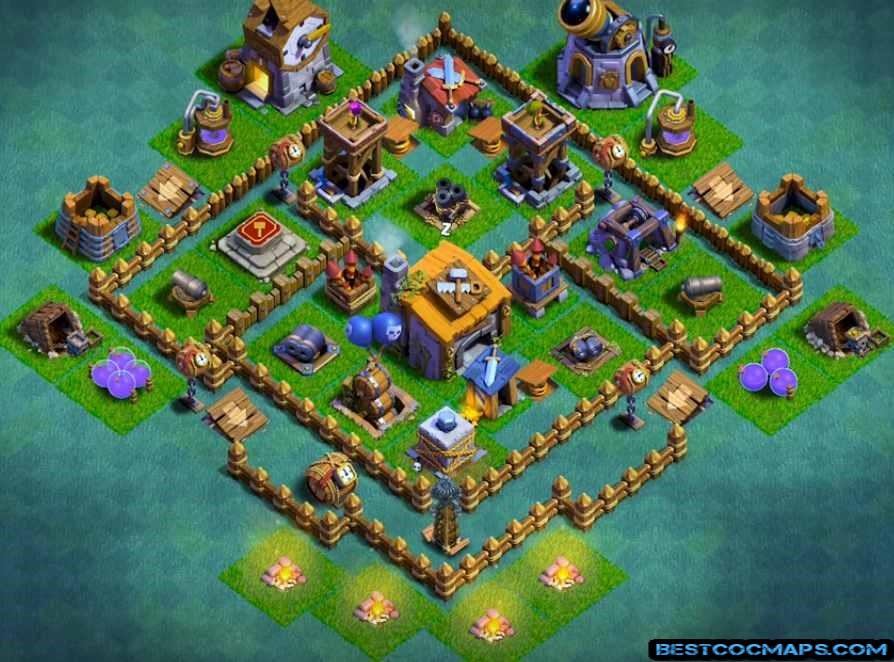 builder hall 5 base anti 1 star